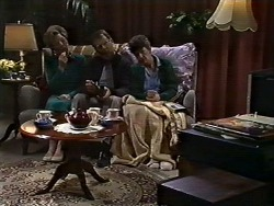 Eileen Clarke, Harold Bishop, Nell Mangel in Neighbours Episode 0582