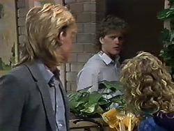 Scott Robinson, Henry Ramsay, Charlene Robinson in Neighbours Episode 0582