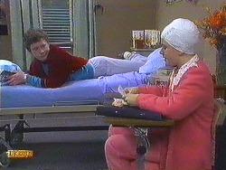 Rick Hansen, Lucy Robinson in Neighbours Episode 0585