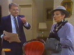 Harold Bishop, Eileen Clarke in Neighbours Episode 0585