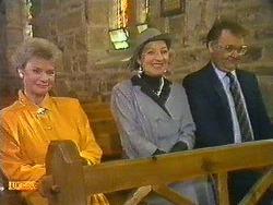 Helen Daniels, Eileen Clarke, Harold Bishop in Neighbours Episode 0585