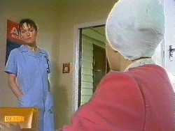 Nurse, Lucy Robinson in Neighbours Episode 0585