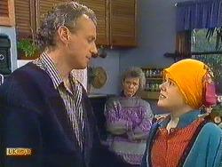 Jim Robinson, Helen Daniels, Lucy Robinson in Neighbours Episode 0587