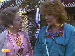 Eileen Clarke, Madge Bishop in Neighbours Episode 0589