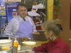 Harold Bishop, Jane Harris in Neighbours Episode 0589