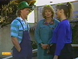 Henry Ramsay, Madge Bishop, BB Larkin in Neighbours Episode 0589