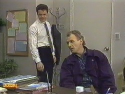 Paul Robinson, Jim Robinson in Neighbours Episode 0589