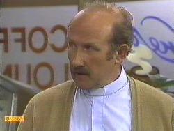 Reverend Sampson in Neighbours Episode 0589