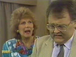 Madge Bishop, Harold Bishop in Neighbours Episode 0589