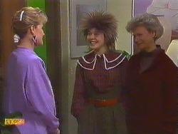 Daphne Clarke, Lucy Robinson, Helen Daniels in Neighbours Episode 0591