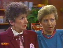 Nell Mangel, Eileen Clarke in Neighbours Episode 0591