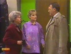 Helen Daniels, Daphne Clarke, Harold Bishop in Neighbours Episode 0591