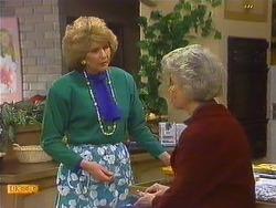 Madge Bishop, Helen Daniels in Neighbours Episode 0591