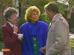 Nell Mangel, Madge Bishop, Harold Bishop in Neighbours Episode 0591
