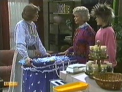 Beverly Marshall, Helen Daniels, Lucy Robinson in Neighbours Episode 0595