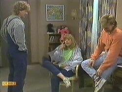 Henry Ramsay, Jane Harris, Scott Robinson in Neighbours Episode 0595