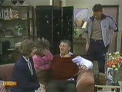 Beverly Marshall, Harold Bishop, Des Clarke in Neighbours Episode 0595