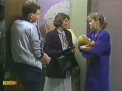 Des Clarke, Beverly Marshall, Jamie Clarke, Daphne Clarke in Neighbours Episode 0595