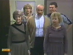 Henry Ramsay, Reverend Sampson, Des Clarke in Neighbours Episode 0595