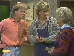 Scott Robinson, Henry Ramsay, Helen Daniels in Neighbours Episode 0595