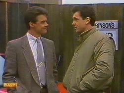 Paul Robinson, Greg Cooper in Neighbours Episode 0603