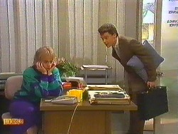 Jane Harris, Paul Robinson in Neighbours Episode 0603