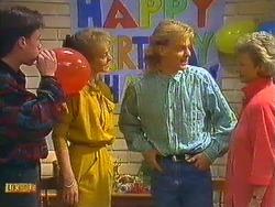 Mike Young, Jane Harris, Scott Robinson, Helen Daniels in Neighbours Episode 0603