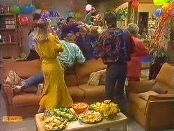 Jane Harris, Scott Robinson, Charlene Mitchell, Mike Young, Helen Daniels in Neighbours Episode 0603