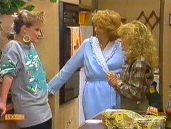 Daphne Clarke, Madge Bishop, Charlene Mitchell in Neighbours Episode 0604
