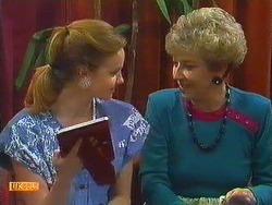 Sally Wells, Eileen Clarke in Neighbours Episode 0604