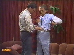 Des Clarke, Harold Bishop in Neighbours Episode 0605