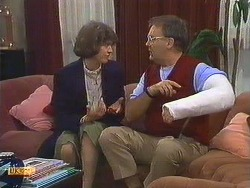 Beverly Marshall, Harold Bishop in Neighbours Episode 0605