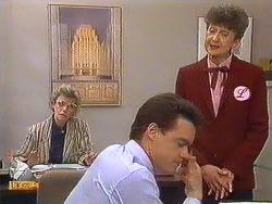 Helen Daniels, Paul Robinson, Nell Mangel in Neighbours Episode 0605