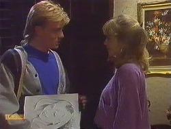 Scott Robinson, Jane Harris in Neighbours Episode 0606