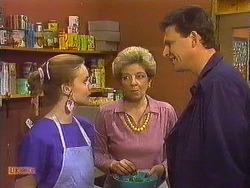 Sally Wells, Eileen Clarke, Des Clarke in Neighbours Episode 0607