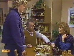Henry Ramsay, Harold Bishop, Madge Bishop in Neighbours Episode 0609