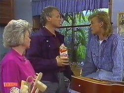 Helen Daniels, Jim Robinson, Scott Robinson in Neighbours Episode 0609