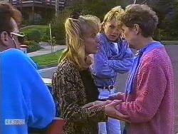 Paul Robinson, Jane Harris, Scott Robinson, Nell Mangel in Neighbours Episode 0609