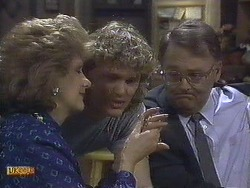 Madge Bishop, Henry Ramsay, Harold Bishop in Neighbours Episode 0610