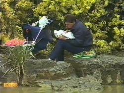 Jamie Clarke, Des Clarke in Neighbours Episode 0610