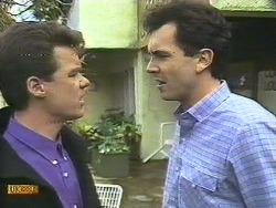 Paul Robinson, Greg Cooper in Neighbours Episode 0610