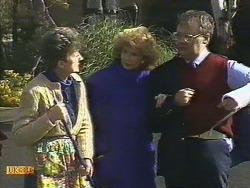 Nell Mangel, Madge Bishop, Harold Bishop in Neighbours Episode 0610