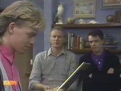 Scott Robinson, Jim Robinson, Paul Robinson in Neighbours Episode 0610