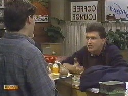Mike Young, Des Clarke in Neighbours Episode 0610