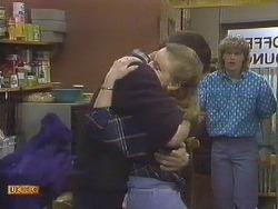 Des Clarke, Sally Wells, Henry Ramsay in Neighbours Episode 0610