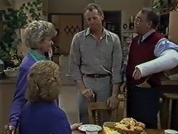Helen Daniels, Madge Bishop, Jim Robinson, Harold Bishop in Neighbours Episode 0611