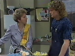 Eileen Clarke, Henry Ramsay in Neighbours Episode 0611
