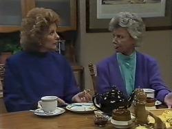 Madge Bishop, Helen Daniels in Neighbours Episode 0611
