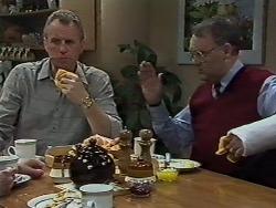 Jim Robinson, Harold Bishop in Neighbours Episode 0611