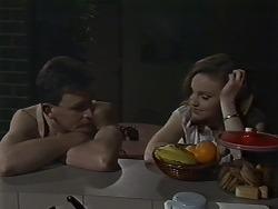 Des Clarke, Sally Wells in Neighbours Episode 0611